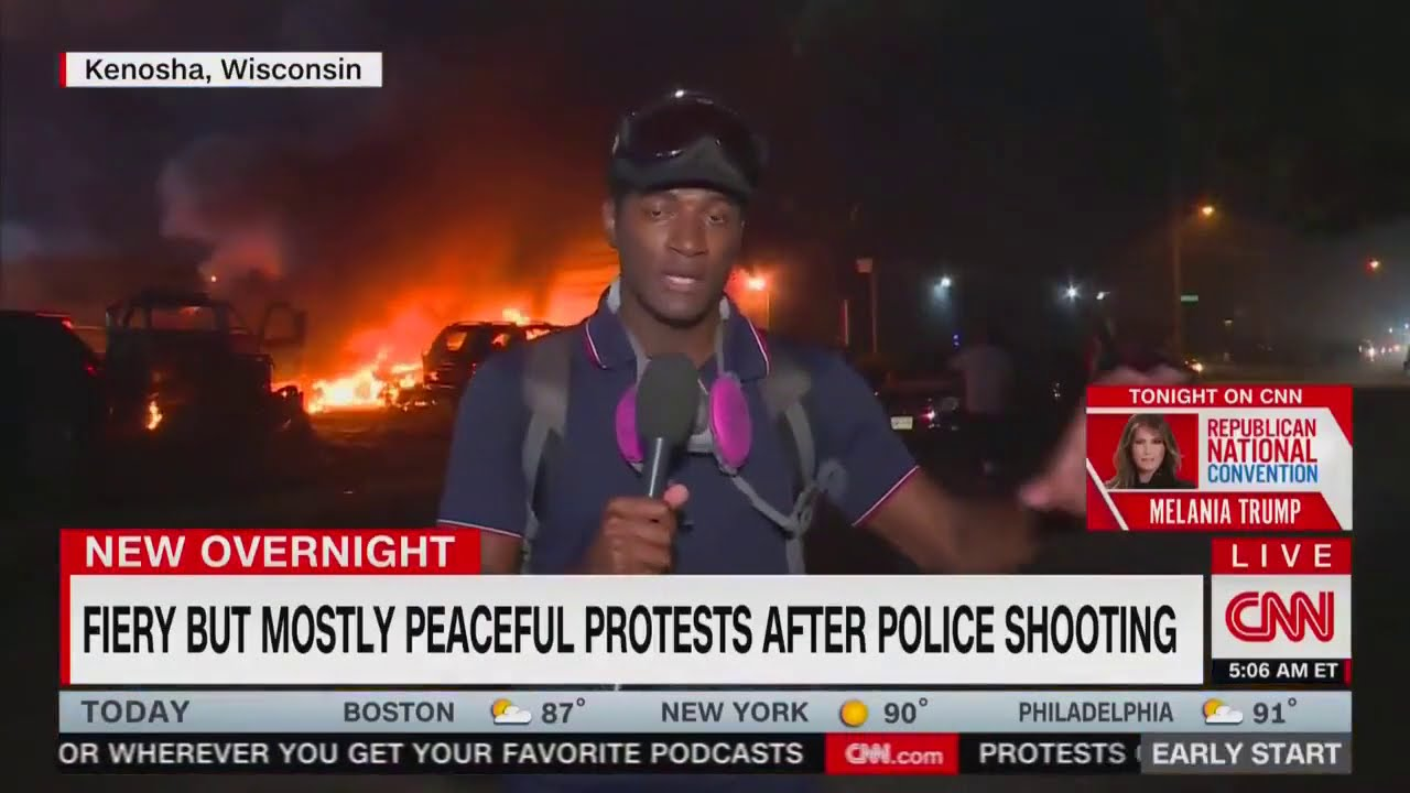 CNN's Mostly Peaceful Riots!