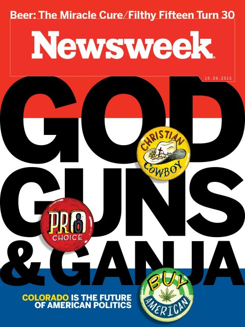 "With a ""Christian Cowbow"" on Newsweek the cover story quotes Bob Enyart..."