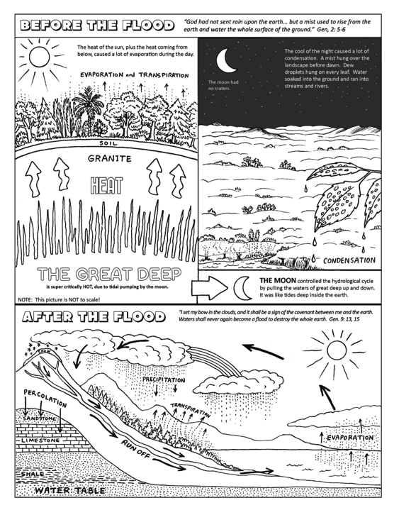 Ellen McHenry's No rain before the flood coloring page for kids