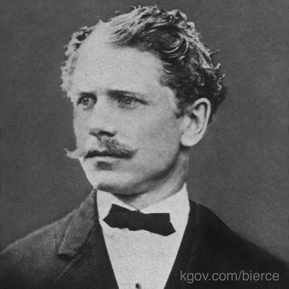 Ambrose Bierce (as at kgov.com/bierce)