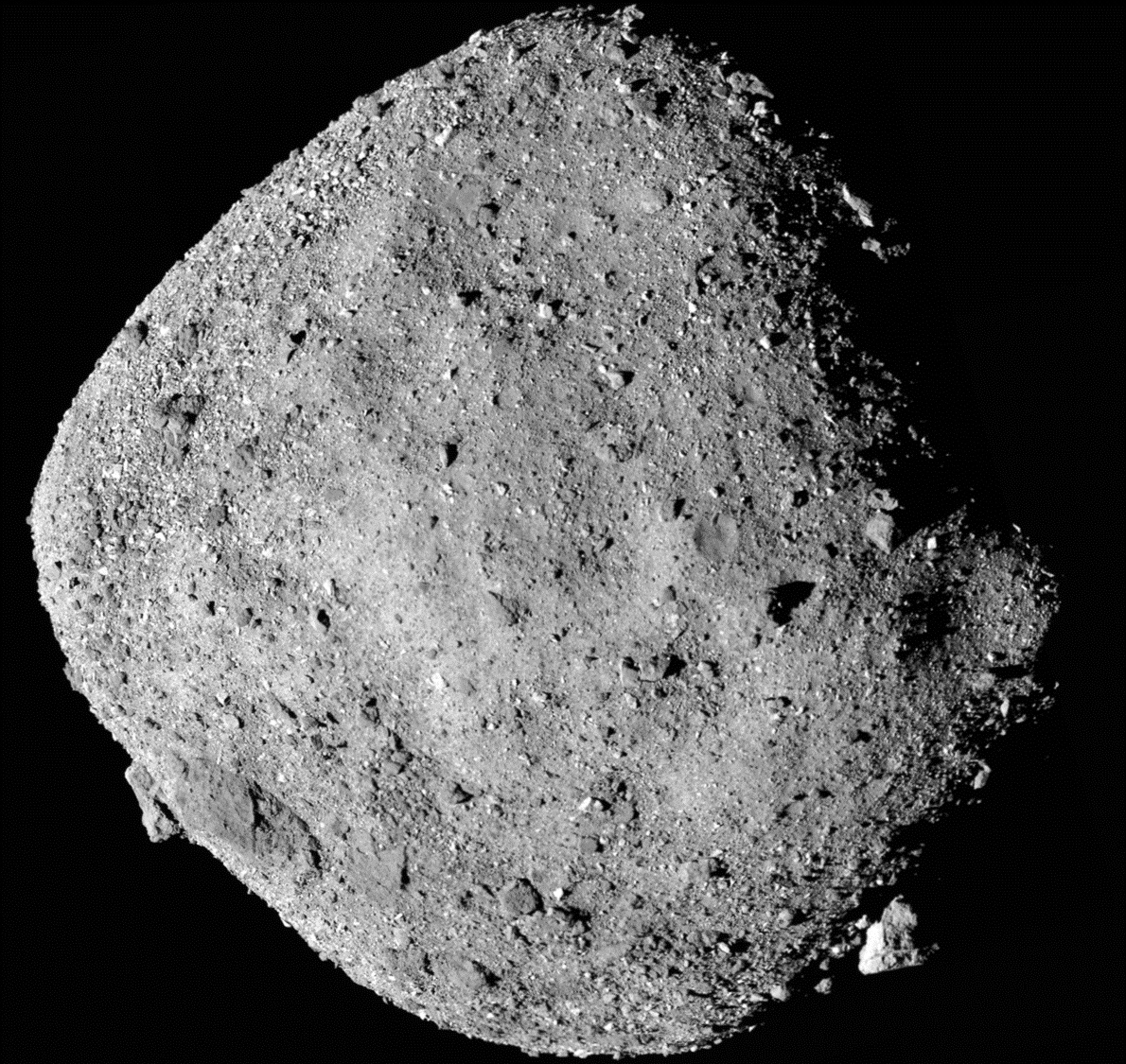 Asteroid Bennu, another HPT-compliant flying pile of rubble