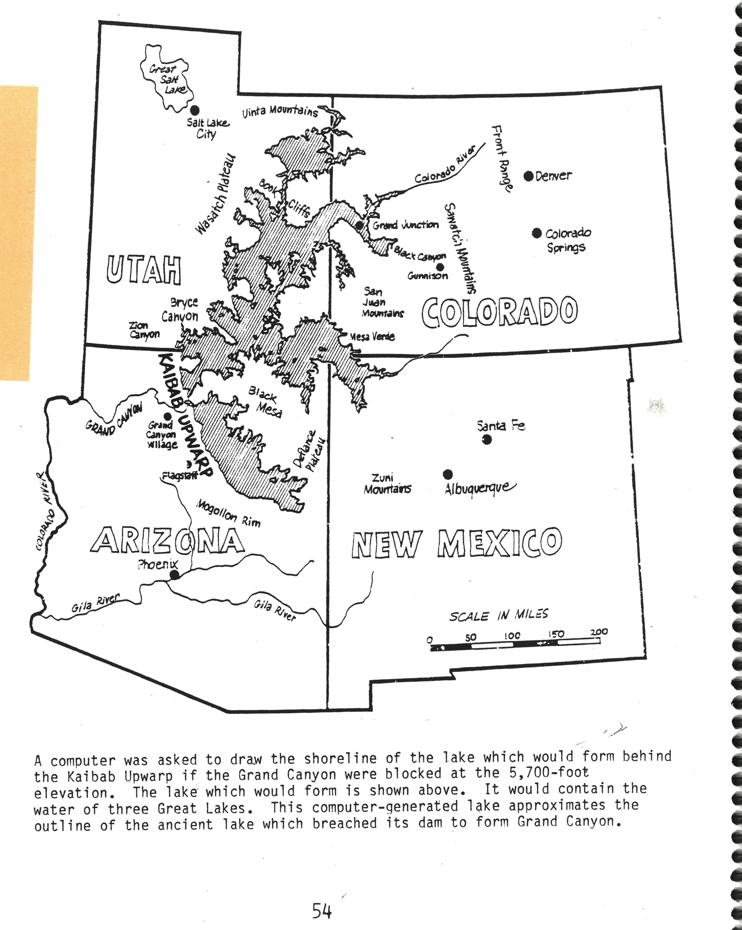 Austin lied to Henry Morris and Walt Brown claiming this map was in his 1988 guidebook...