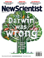 NewScientist cover story: Darwin Was Wrong on the tree of life