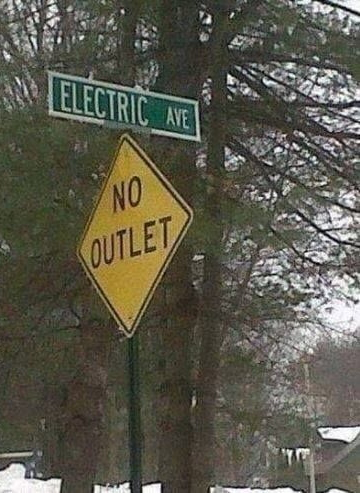 Electric Avenue -- No Outlet