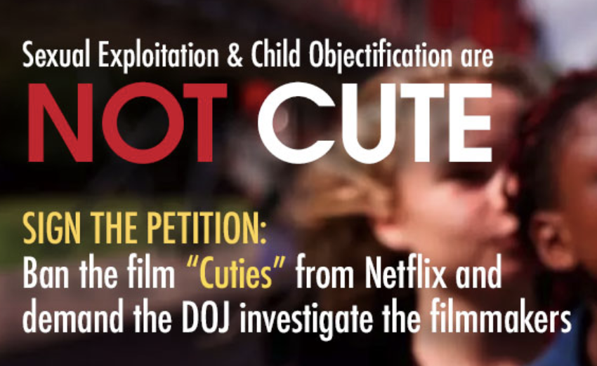 "Donna Rice Hughes action against Netflix & ""Cuties"""