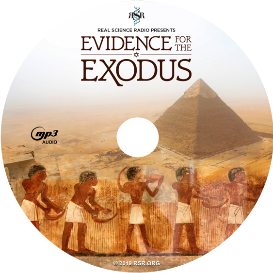 RSR's MP3 CD, available in download also with their Evidence for the Exodus
