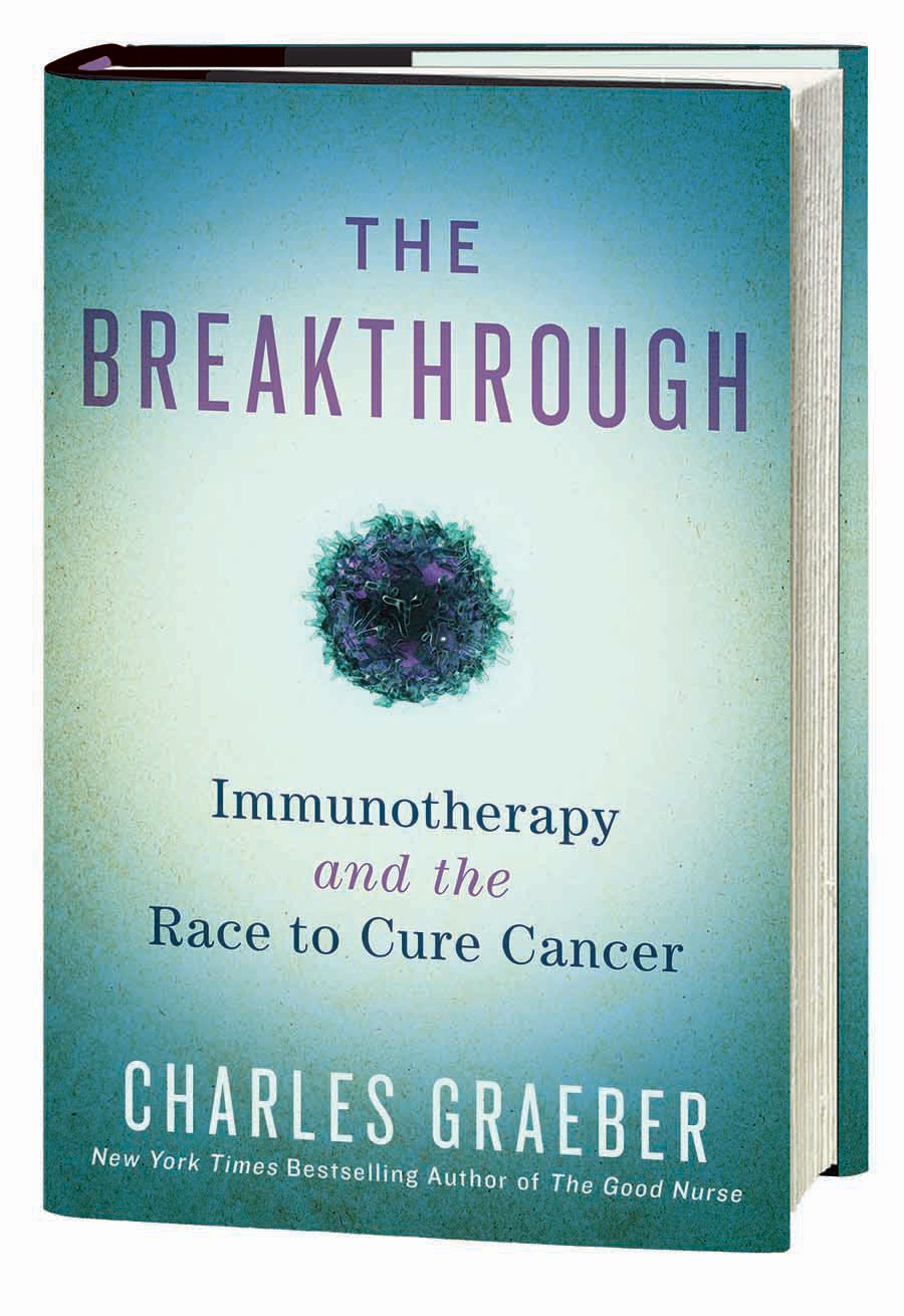 Immunotherapy Breatkthrough book with Jim Allison and Tasuku Honhjo and the race to cure cancer