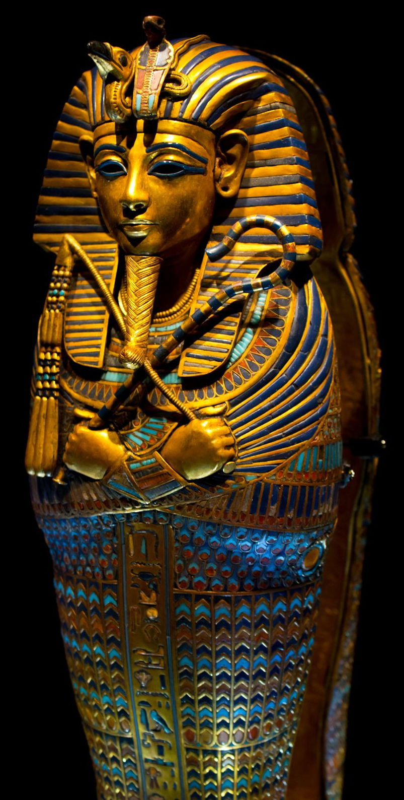 Young King Tut's coffin