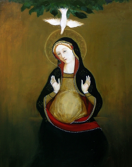Mary with Child, used by permission of Kay Eneim.