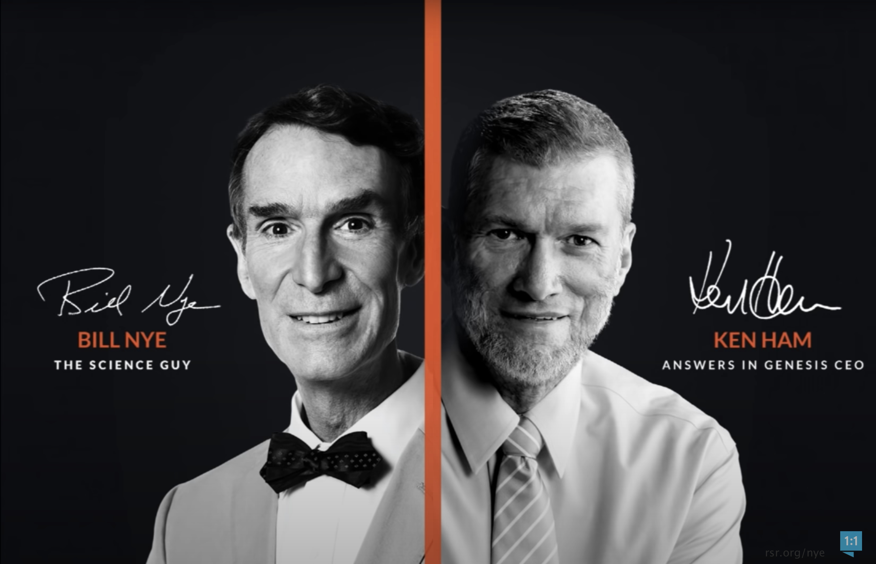 "Ken Ham debates Bill Nye the ""science"" guy, on creation"