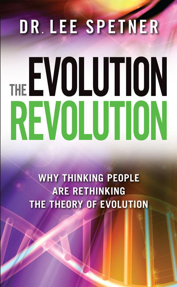 Dr. Lee Spetner's book cover for his Evolution Revolution