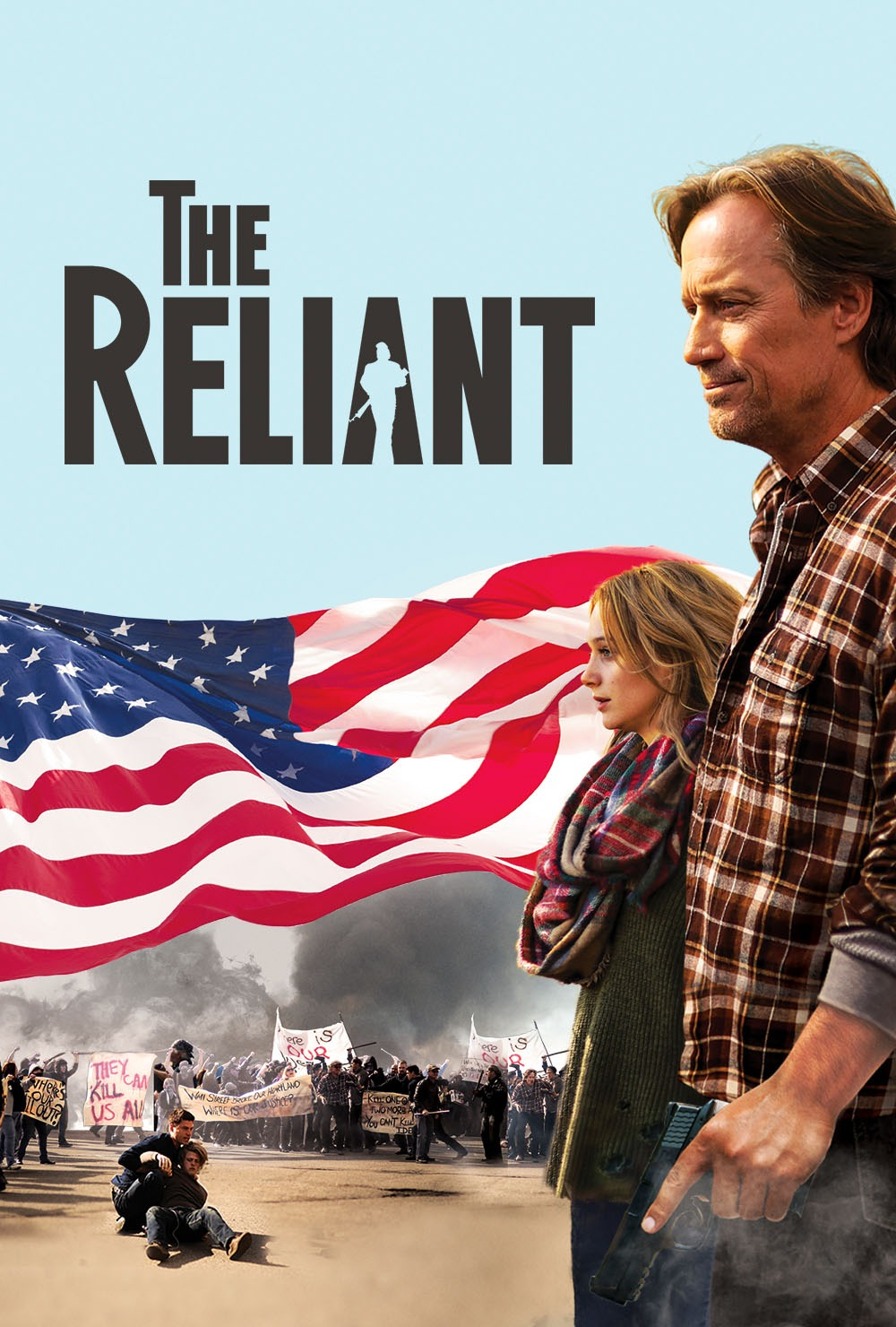 The Reliant movie poster, written and produced by BEL friend Dr. Patrick Johnston