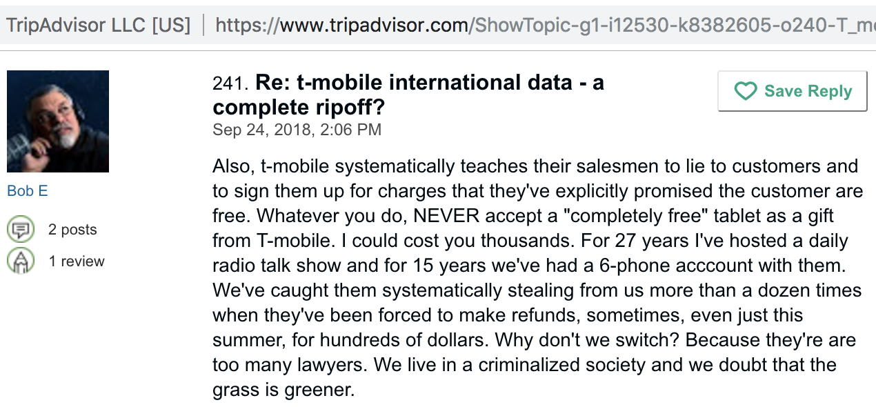 T-mobile teaches their employees to lie and steal from their customers