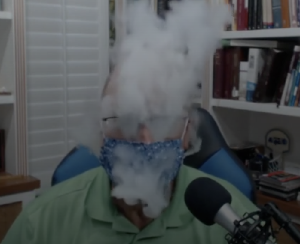 Vaping while masking, at wearepaulrevere.net