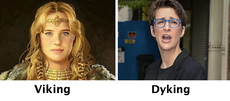 Viking vs Dyking